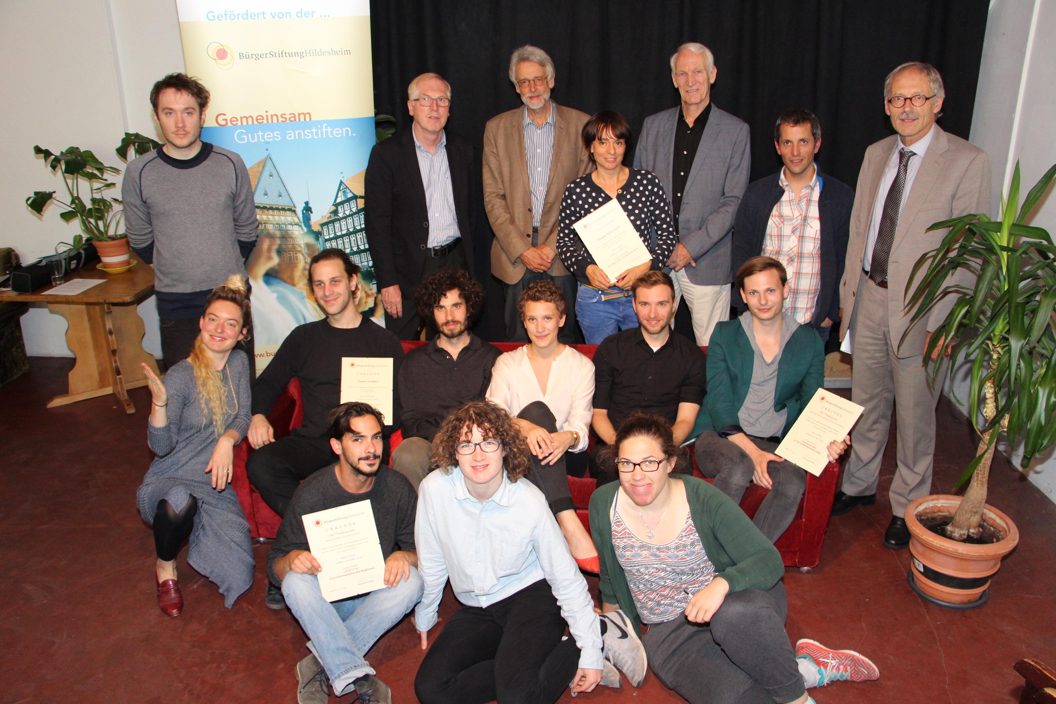 Preisverleihung Freie Theatergruppen
